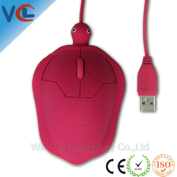 VMM-59 11 years ISO factory promotional/exhibition/christmas gift turtle shape cute optical mouse