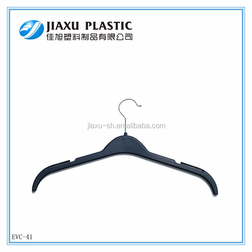 Best cheap clothes stand and recycle pp plastic coat hanger