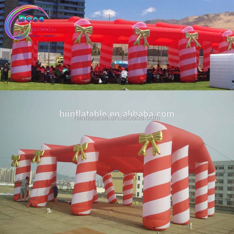 Christmas Holiday Decoration Christmas Inflatable House cabin candy Tent
