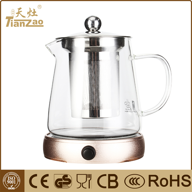 Home appliance multifunction0.6L glass electric kettle wholesale
