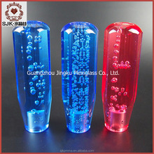 novelty gear shift knobs/acrylic crystal gear shift knob