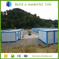 Modular shipping container workers mobile camp temporary building