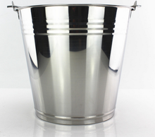 hot sale stainless steel large ice beer bucket for parties outdoor activity beer buckets for sale