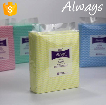 Spunlace Nonwoven disposable dry household cleaning wipes; Super absorbent household cleaning