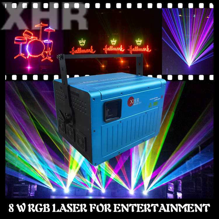 Laser ILDA Animation 3w/5w/8w rgb laser light,event stages for sale