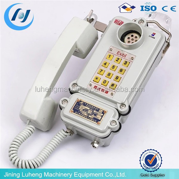 Mining KTH-15 IP65 explosion proof corded telephone,Desktop phone,tables phone for sale