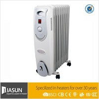 Electric oil radiator heater