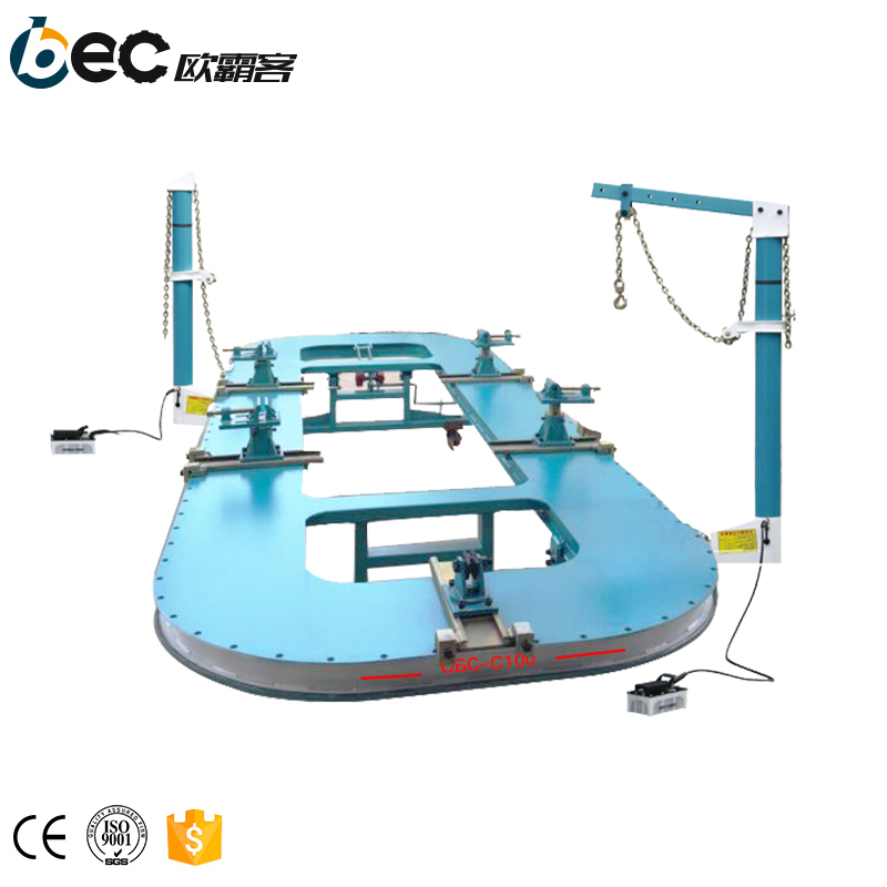 car body making machine chassis straightener car body frame machine