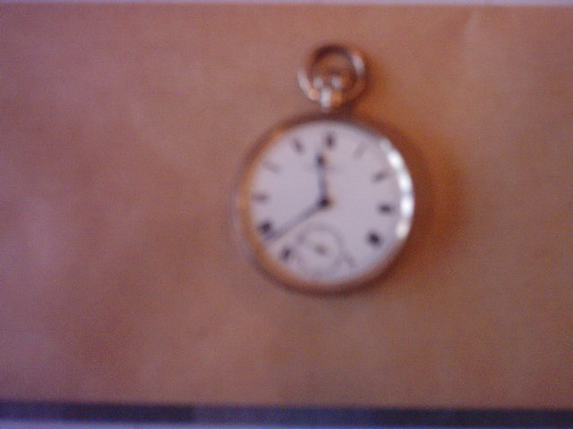 Correct Gold Pocket Watch