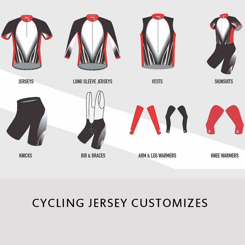 Custom Mountain Bike Jerseys Cycling Apparel Customised Cyclist Clothing Professional Custom Cycling Clothing