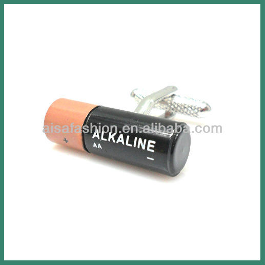 Alkaline AA Battery Cufflinks