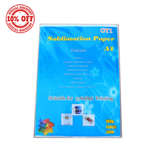Premium Quality 100 A4 Sheets Sublimation Transfer Paper for Heat press 100 GSM