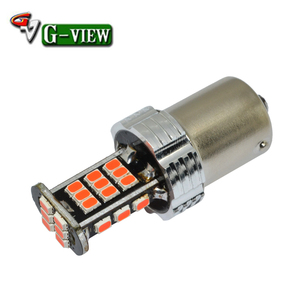 Newest design Parking light/led auto reversing light 1156 w16 S25 1156/7 30smd 3020 focos led para autos luces led para