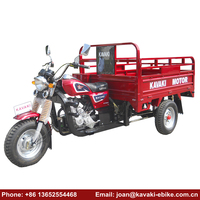 Trending Hot Products Chinese Truck Tires 4.5*12 Bajaj Passenger Tricycle Three Wheel Motorcycle with Higher Car Box