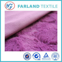 alibaba china supplier brushed pv plush fabric fur fabric making soft toys