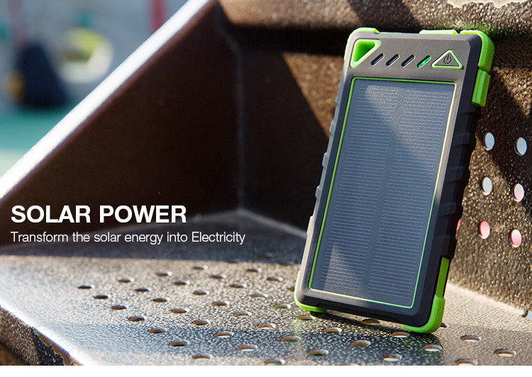 Functional Universal high capacity 8000mah portable outdoor Polymer lithium-ion fast charging power bank