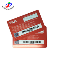 China factory Plastic Loyalty Programs Barcode Vip Promotional Card