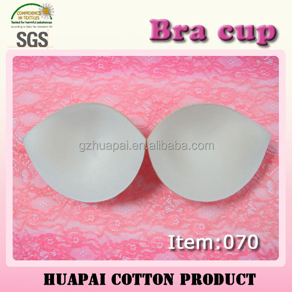 070 Popular polyester chest push up bra cup for wedding dress