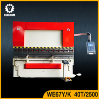 Kingdom 70 mm hydraulic plate bending machine for fitting