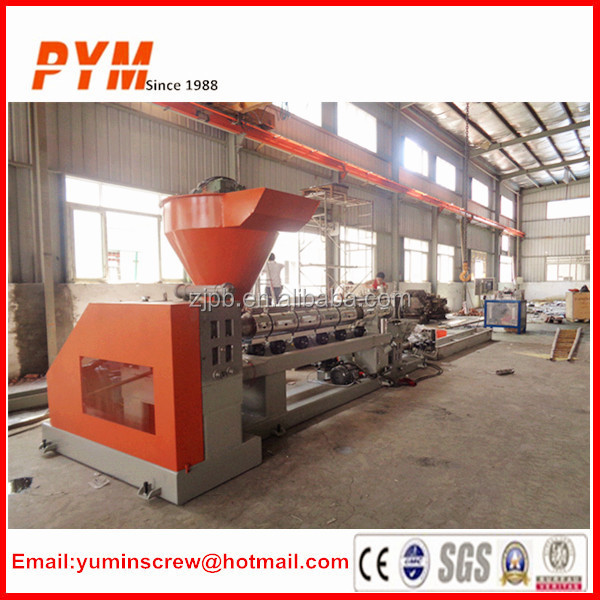 Full automatic plastic recycling production line