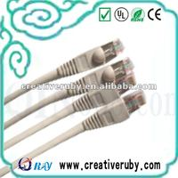 UTP/FTP/SFTP/SSTP Lan Flat Cable Cat6 /cat5e Patch Cord