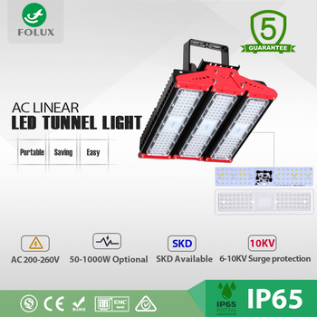 Wholesale outdoor driverless AC Linear LED tunnel light 150w