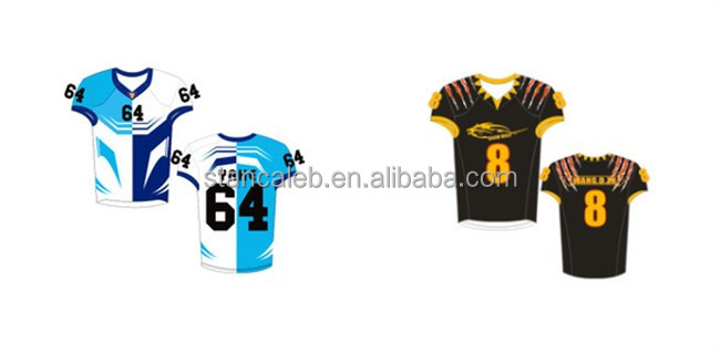Stan Caleb 2017 Custom 100% Polyester American Football Uniforms Jersey