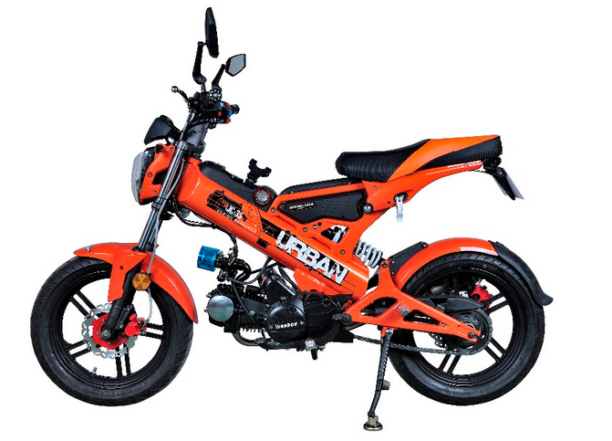 CE cheap mini gas motorbike for sale folding mini motorcycle
