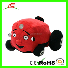High Quality Red Super Soft Toy Tractors For Children