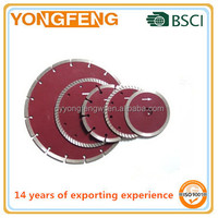 350mm concrete road cutting diamond saw blades