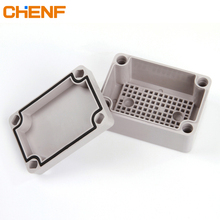 IP66 Protection Level Outdoor ABS Waterproof Telephone Wire Junction Boxes With Mesh Baseplate