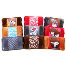 Anti-Explosion 220v 110v lovely plush cartoon electric hot water bottle/hand warmer/hot bag For warm foot