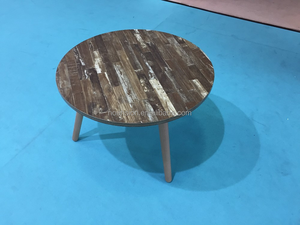 2016 new design modern 3 legs coffee table end table