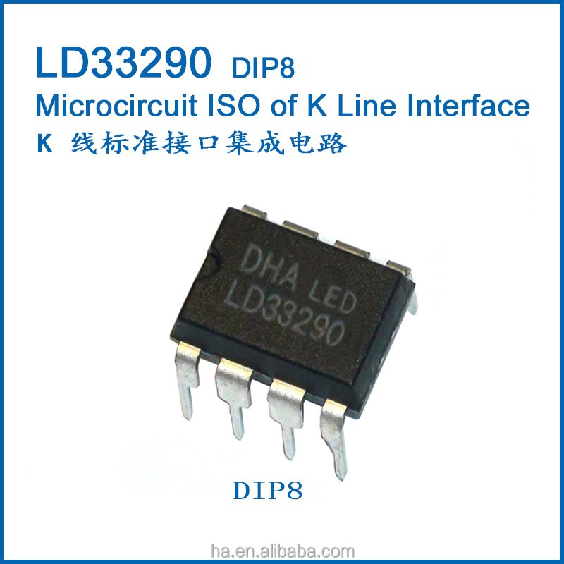 Automotive <strong>K</strong> Line Interface IC DIP8 LD33290