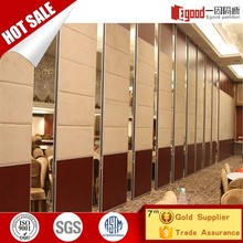 Hotel movable walls partition in restaurant restaurant acoustic sliding door