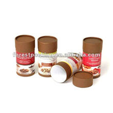 100% RECYCLED MATERIAL CUSTOM CANDLE PAPER TUBE PACKAGING