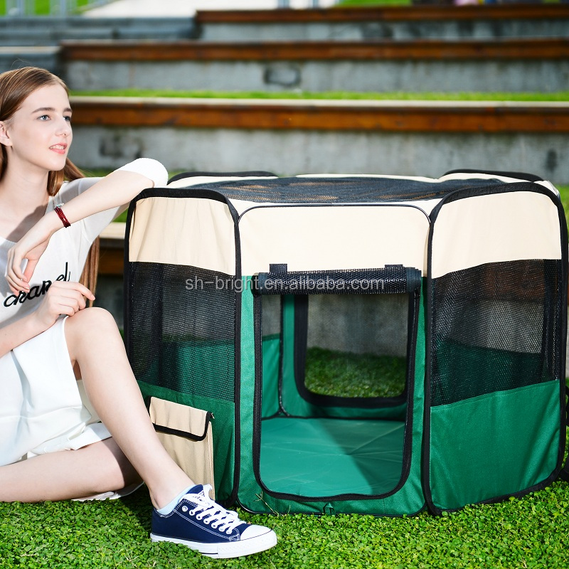 soft sided pet playpen