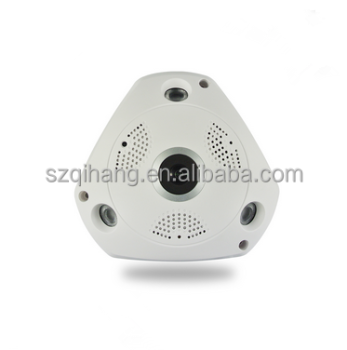 Hot Selling 720P HD IR Night Vision 360 Panoramic Fisheye Ip Camera manufacturer
