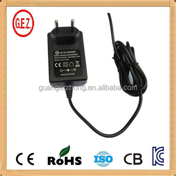 12V 750mA KC portable phone charger