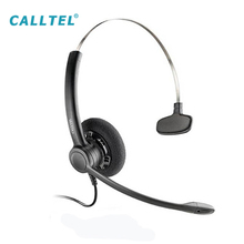 Professional Call Center Telephone Headset with Noise Cancelling Microphone