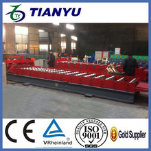 ISO & CE certificate special type for myanmar encaustic roof tile machine
