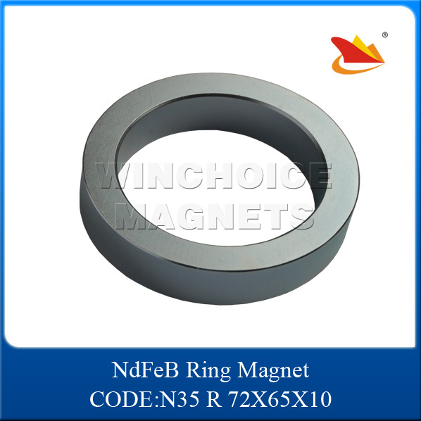 china ndfeb manufacture neodymium ring magnets