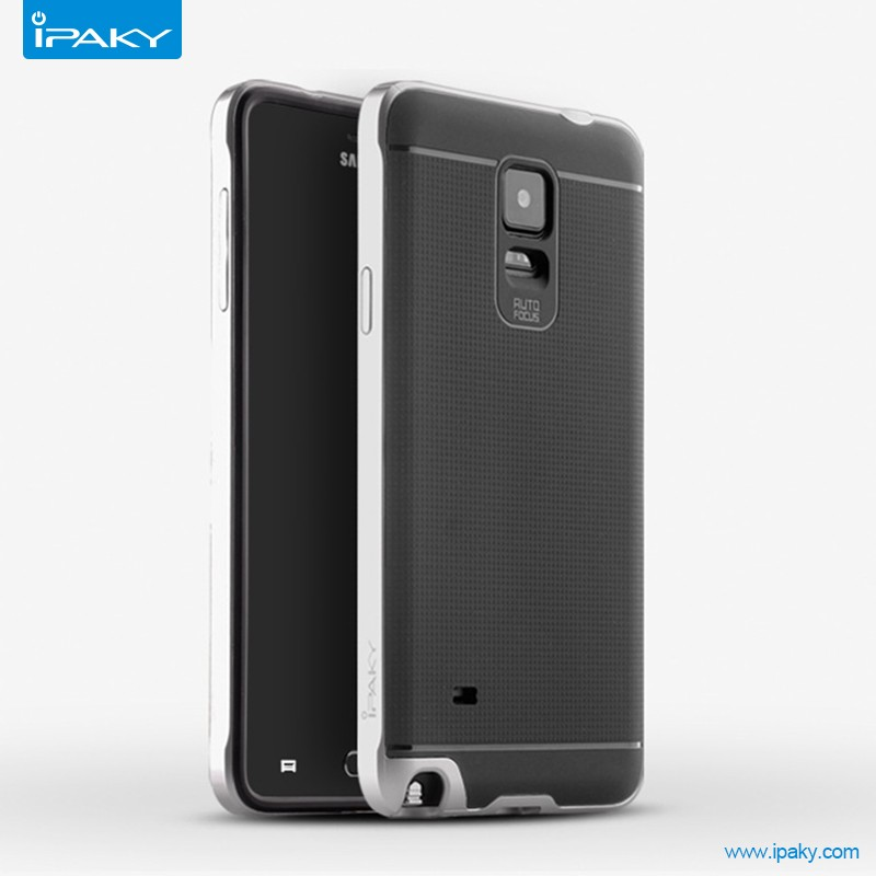 Wholesale Case For Note 4 N910 IPAKY PC + TPU 2-in-1 Case Phone Case for Samsung Galaxy Note 4 N910