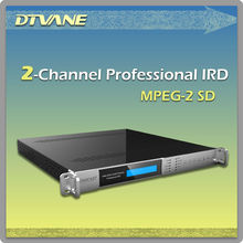 DMB-9060(4-CH) Multi-channel dvb-t2 decoder with BISS and CI