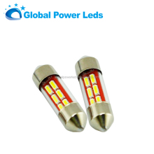 New 4014smd 31mm 6SMD car led festoon light interior top reading light bulb 12V