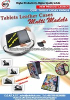 Tablets Leather Cases for Multi Models