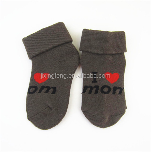 OEM high quality cotton cell phone socks