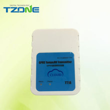 Wireless sms transmitter network temperature logger humidity and temperature monitor