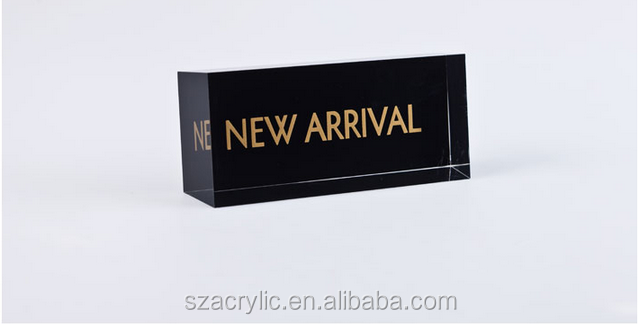 Acrylic New arrival display block