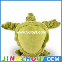 "10"" 25cm big eyes stuffed turtle toy , plush turtle toy,green soft turtle toy"